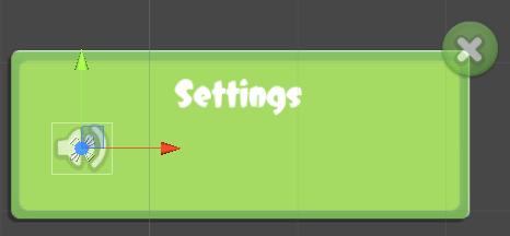 Unity Settings GUI